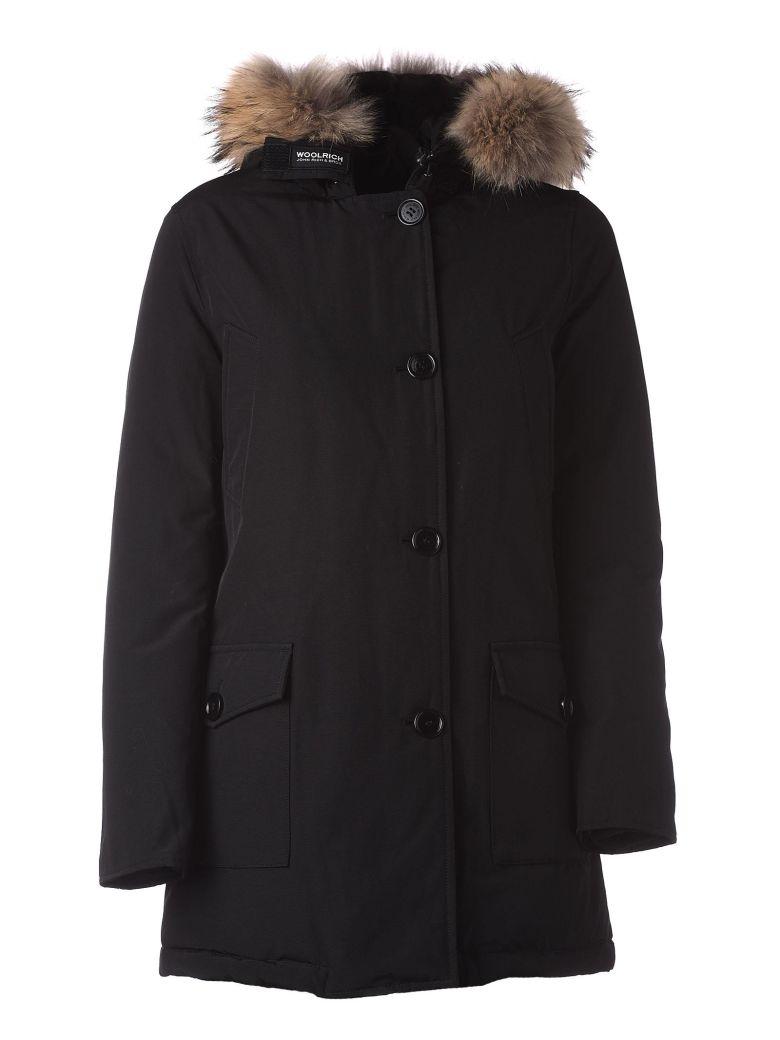 Woolrich Black Winter Parka - NERO
