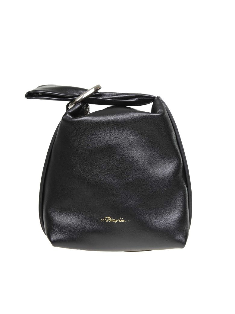 3.1 Phillip Lim Phillip Lim Ines Hand Bag In Black Color Leather - Black
