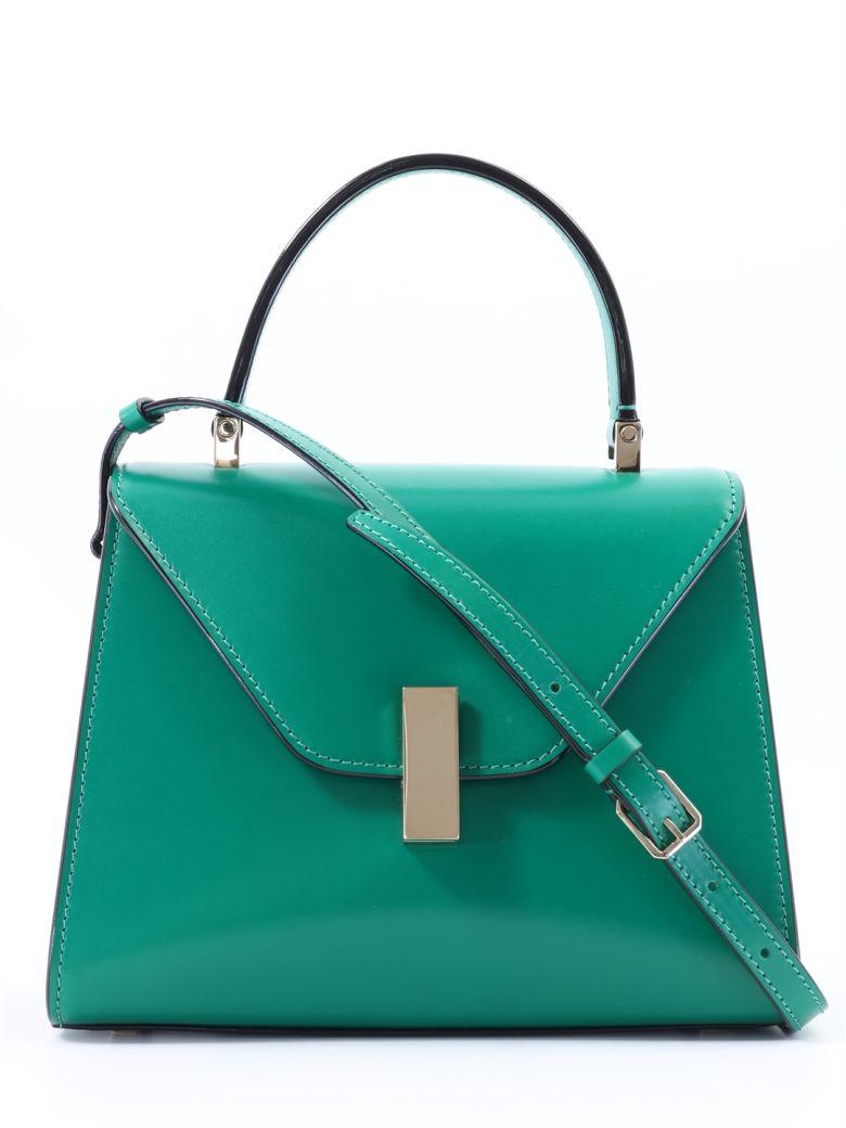 Valextra Iside Mini Emerald Green - Green