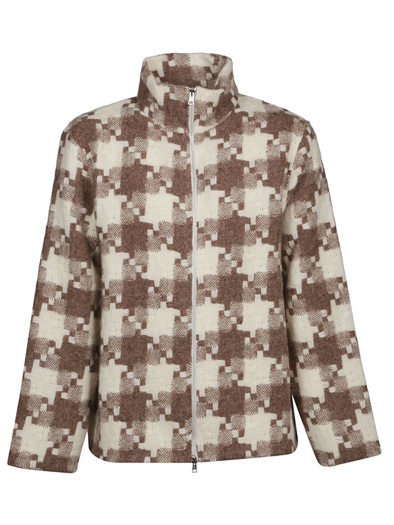 Our Legacy Checked Zipped Jacket - Basic