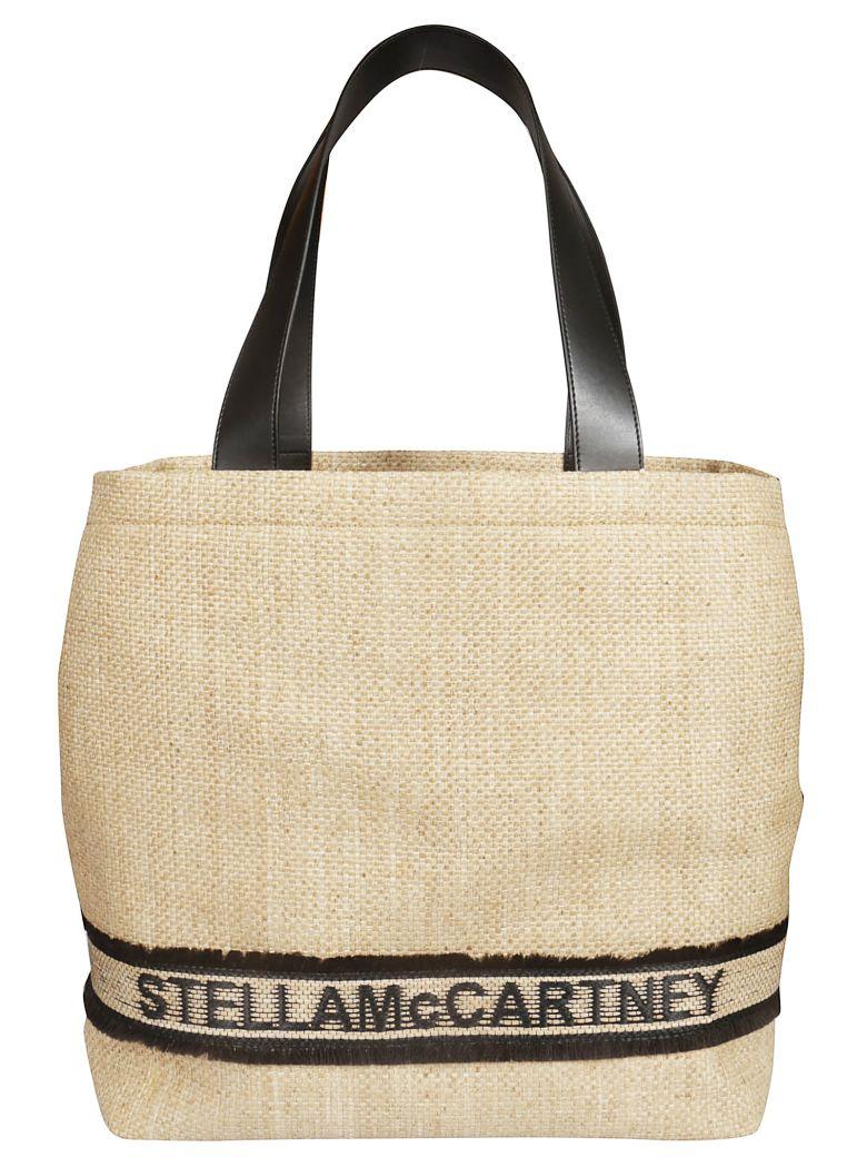 Stella McCartney Woven Logo Tote - Basic