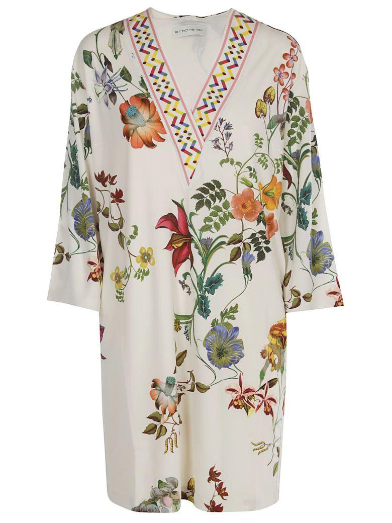 Etro Floral Shift Dress - Multicolor