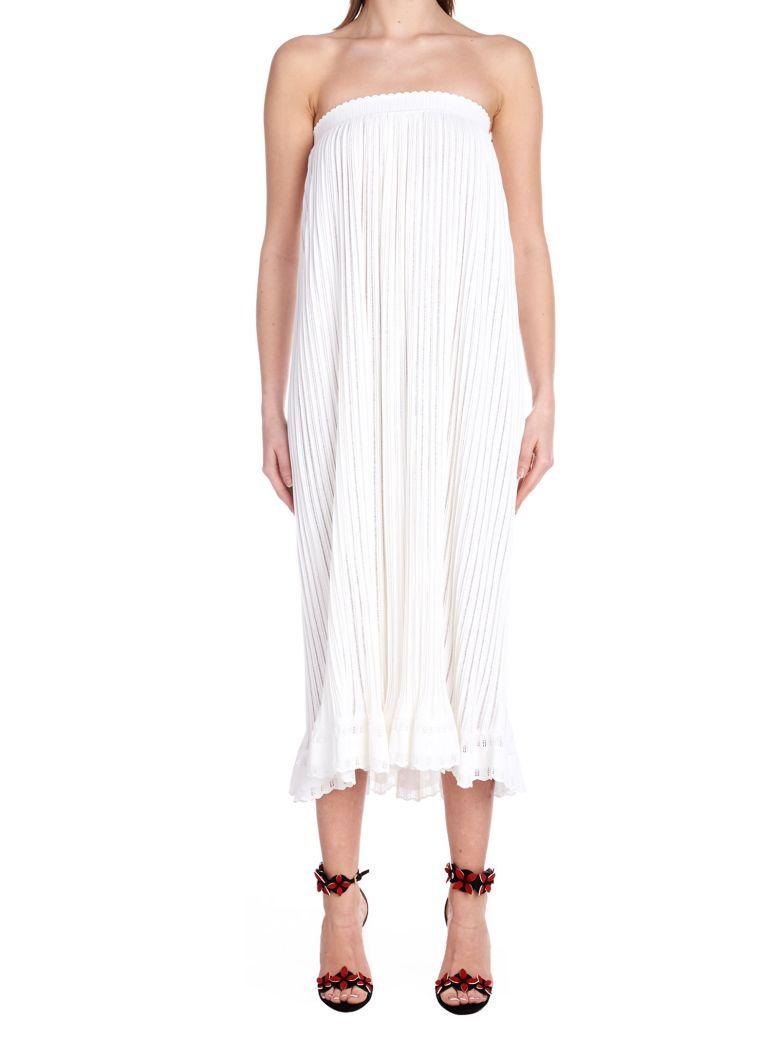 Alaia 'falbalas'' Skirt - White