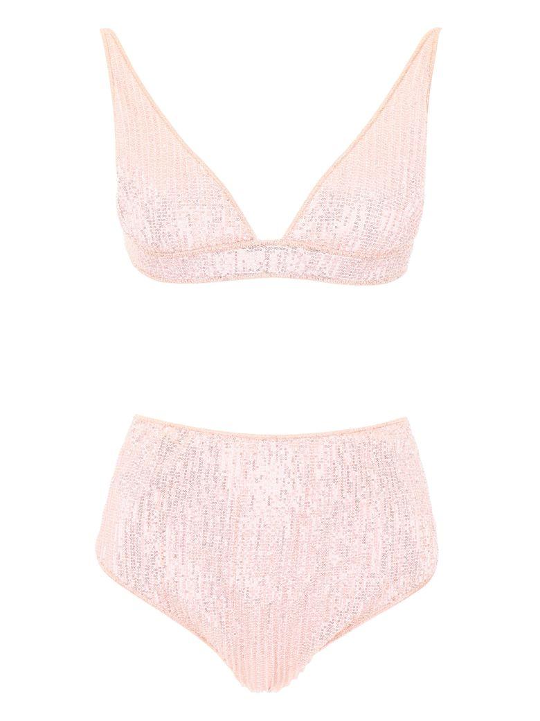 Oseree Micro Sequins Bikini - PINK (Pink)