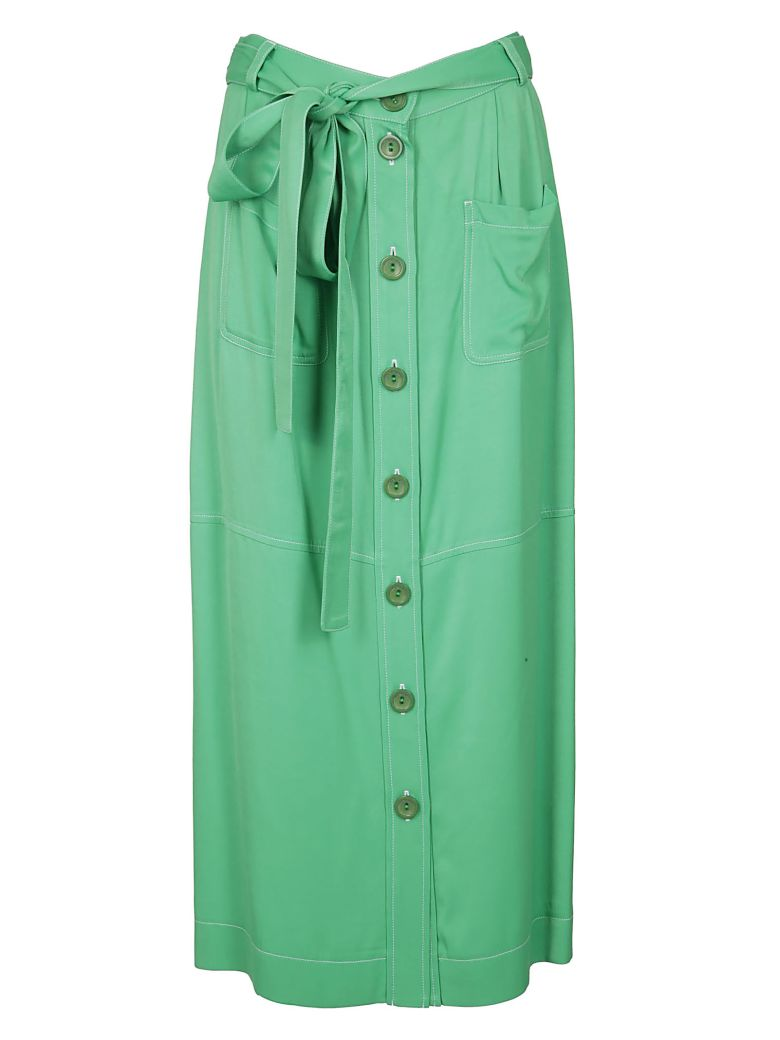 See by Chloé Button Up Skirt - Green