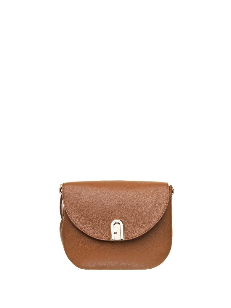 Furla Furla Sleek Crossbody Bag - COGNAC