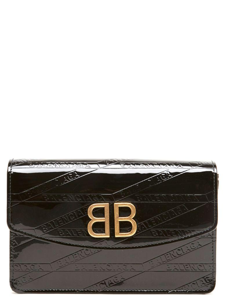 Balenciaga 'bb Wallet On Chain' Bag - Black