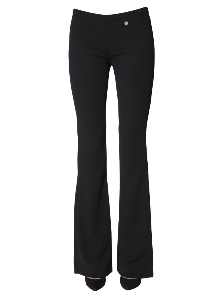 Versace Collection Flare Trousers - NERO