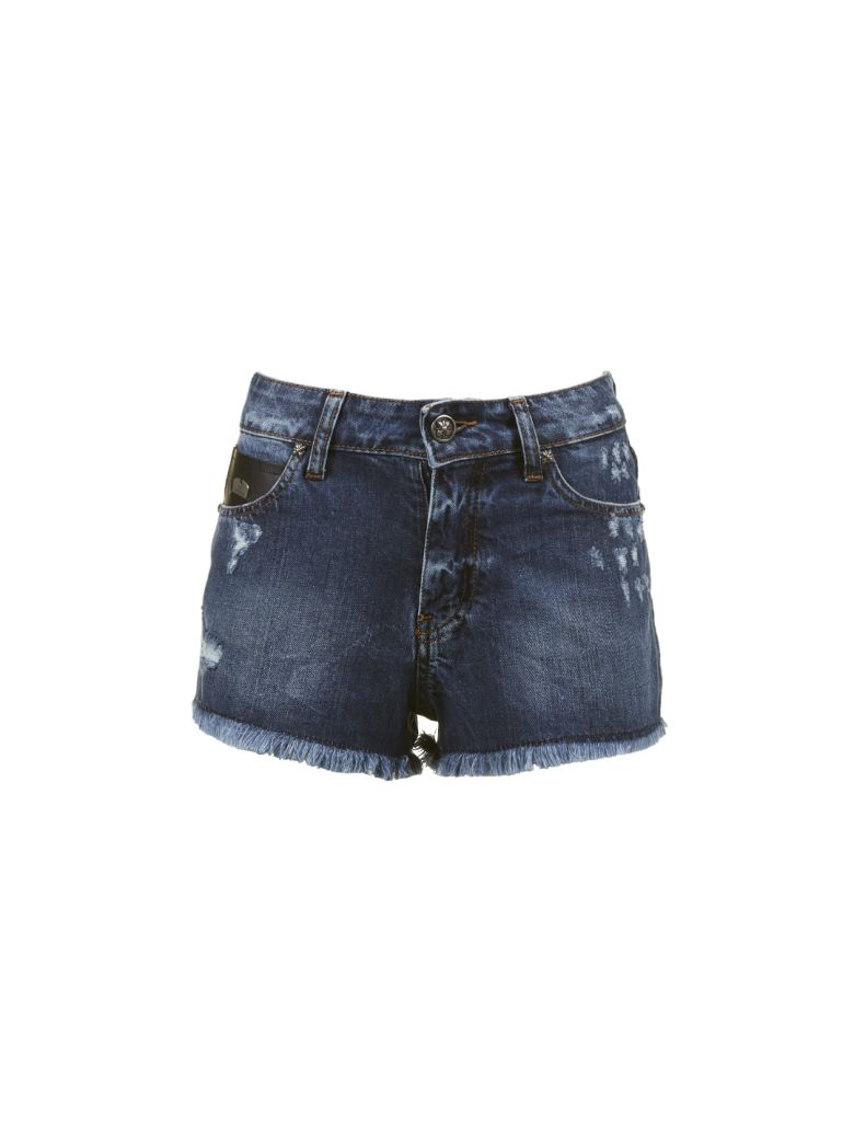 John Richmond Fringed Shorts - Basic