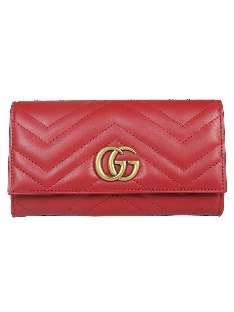 Gucci Gg Marmont Continental Wallet - Basic