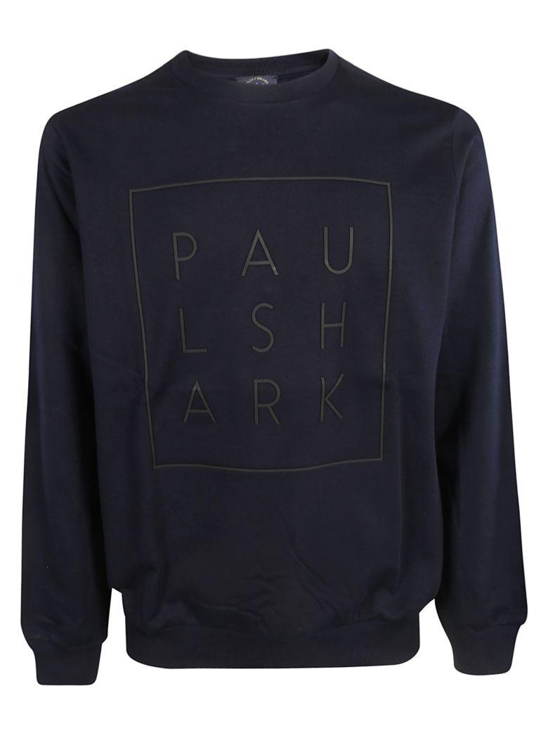 Paul&Shark Paul & Shark Logo Print Sweatshirt - Blue