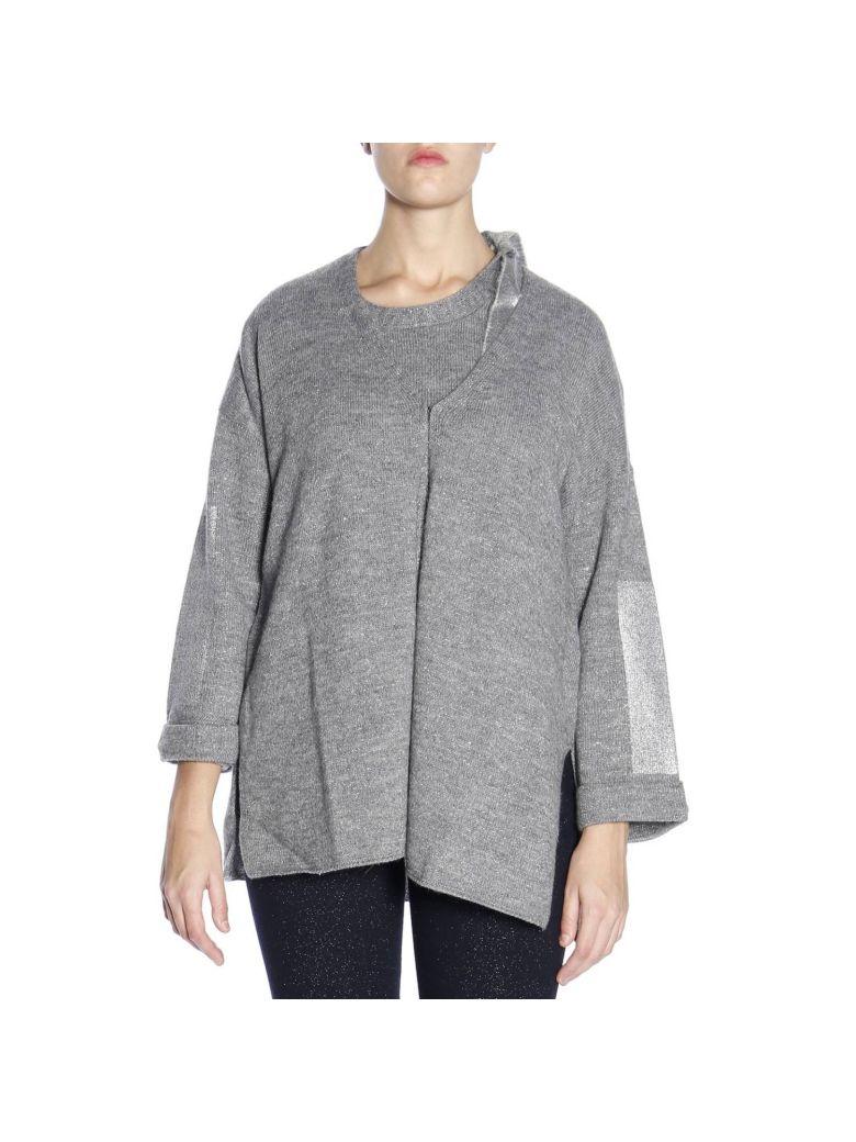 Marina Rinaldi Sweater Sweater Women Marina Rinaldi - grey
