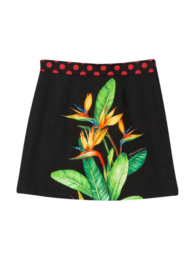 Dolce & Gabbana Black Skirt - Nero