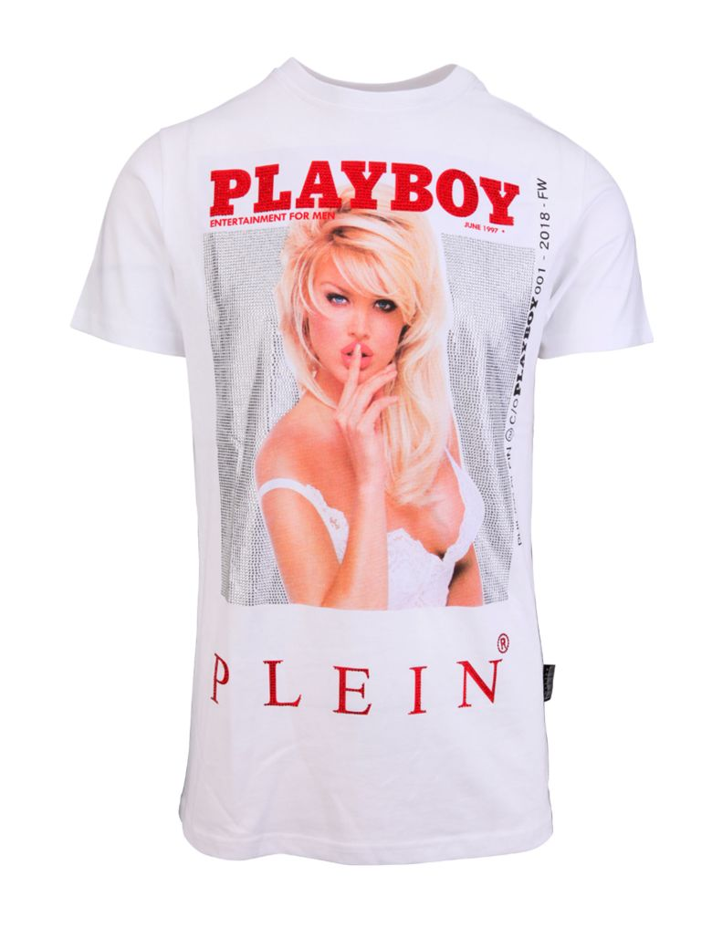 philipp plein philippe plein t shirt white 10763699. Black Bedroom Furniture Sets. Home Design Ideas