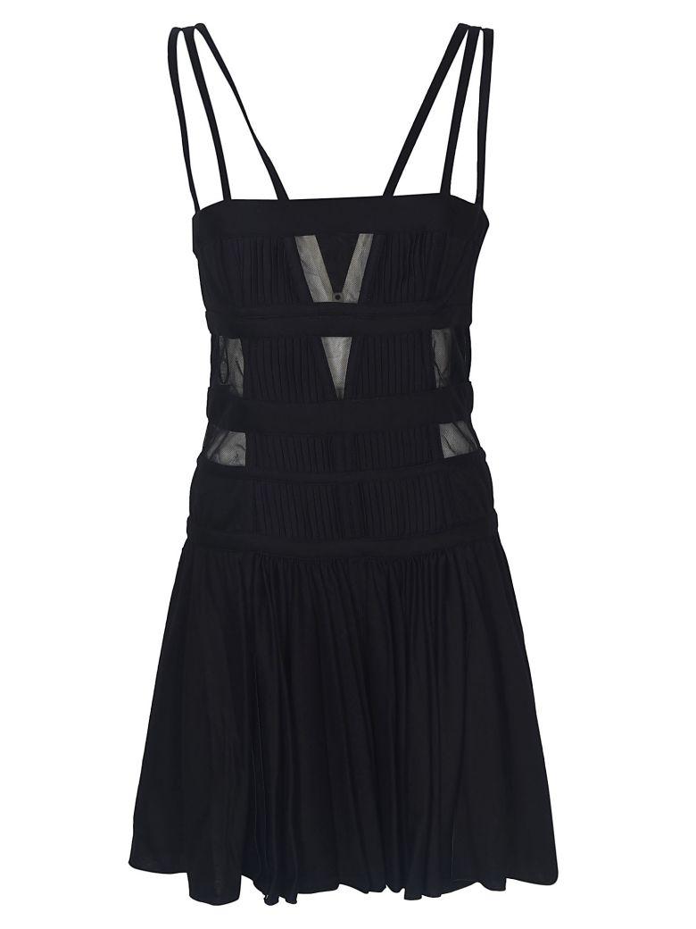 Giovanni Bedin Tulle Tank Strap Mini Dress - Black