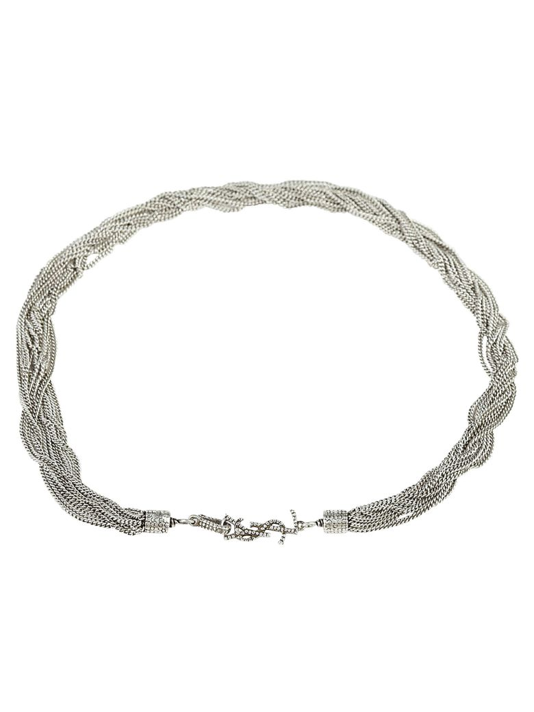 Saint Laurent Necklace - Argent