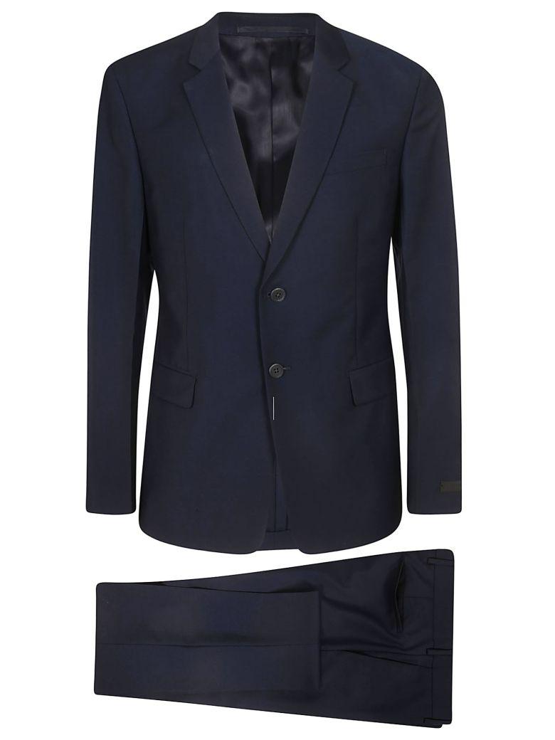 Prada Slim Fit Suit - Navy