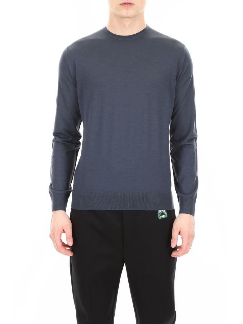 Prada Brushed Wool Pullover - DIVISA (Light blue)