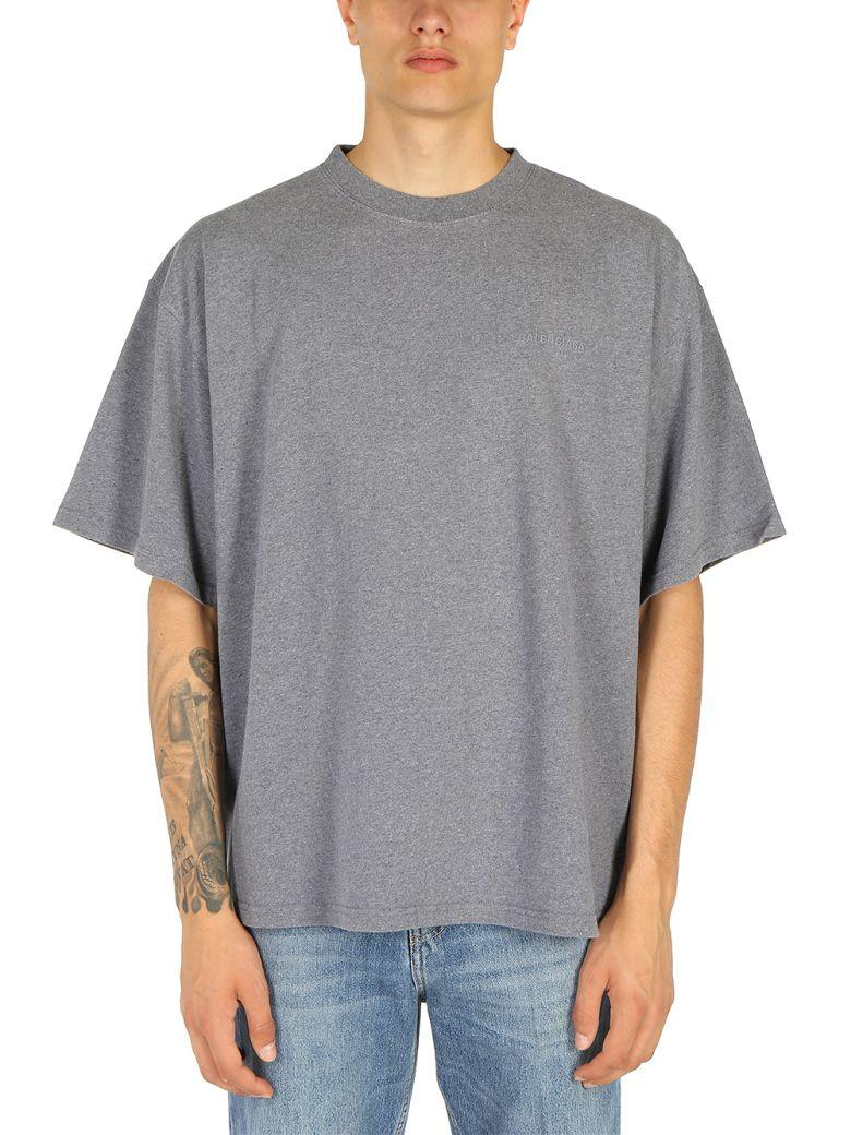 Balenciaga - Balenciaga T-shirt - Dark heather grey