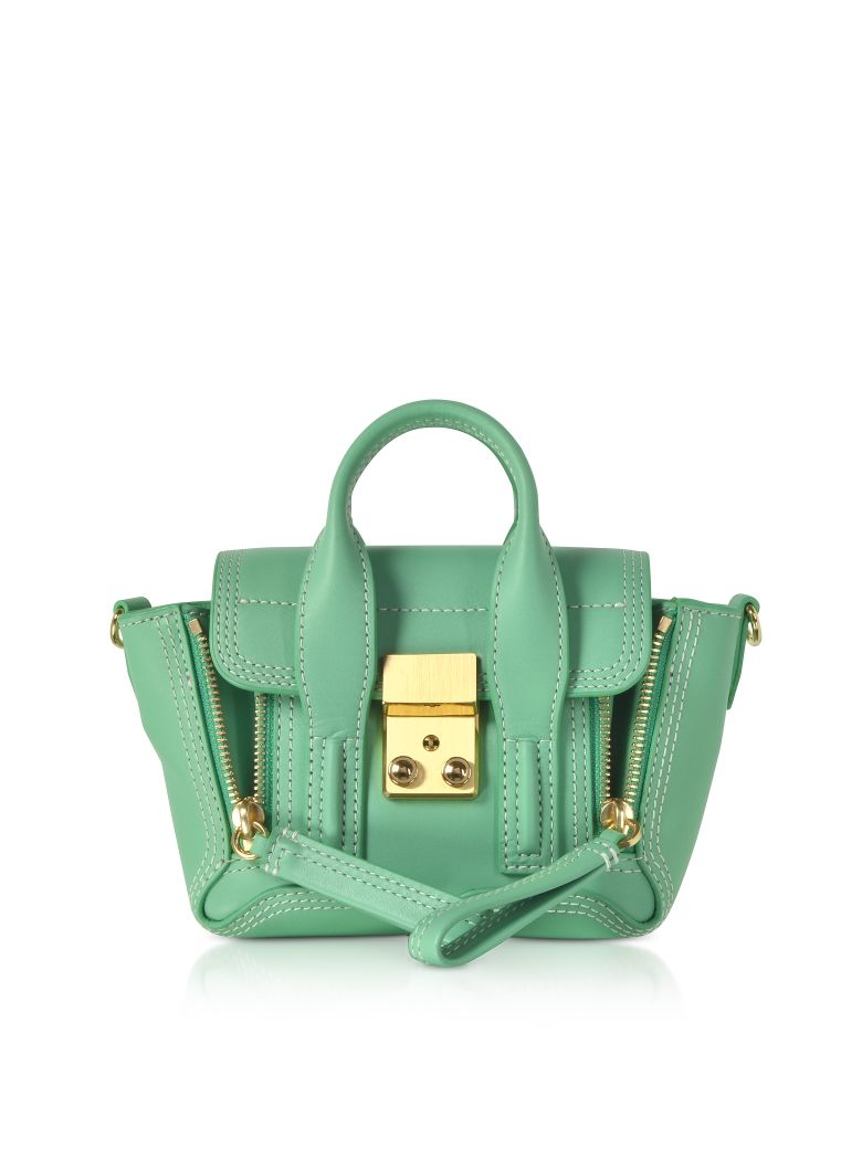 3.1 Phillip Lim Pashli Nano Satchel Bag - Mint Green