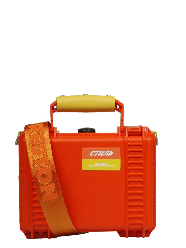 HERON PRESTON Tool Box Crossbody Bag