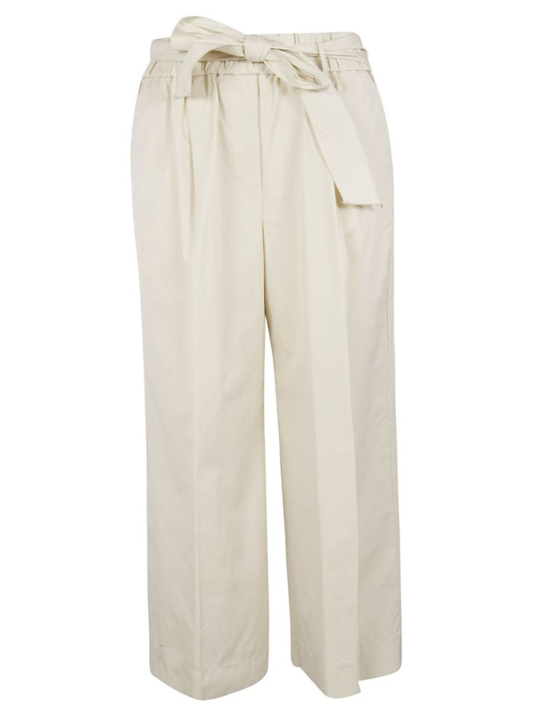 Forte_Forte Forte Forte Paper Bag Trousers - Gesso