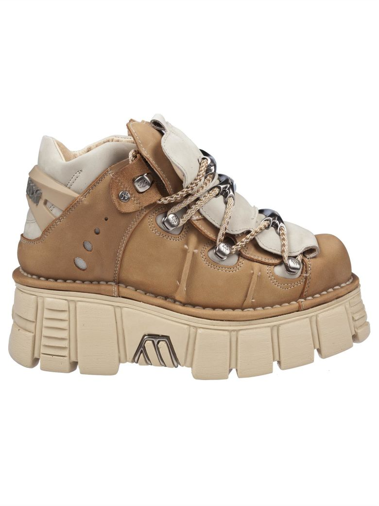 New Rock Nsrm 106 Platform Sneakers - Softy safari