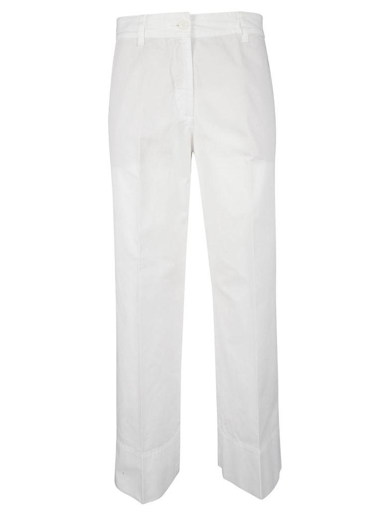 Aspesi Wide Leg Trousers - White