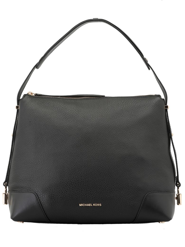 MICHAEL Michael Kors Crosby Large Bag - BLACK