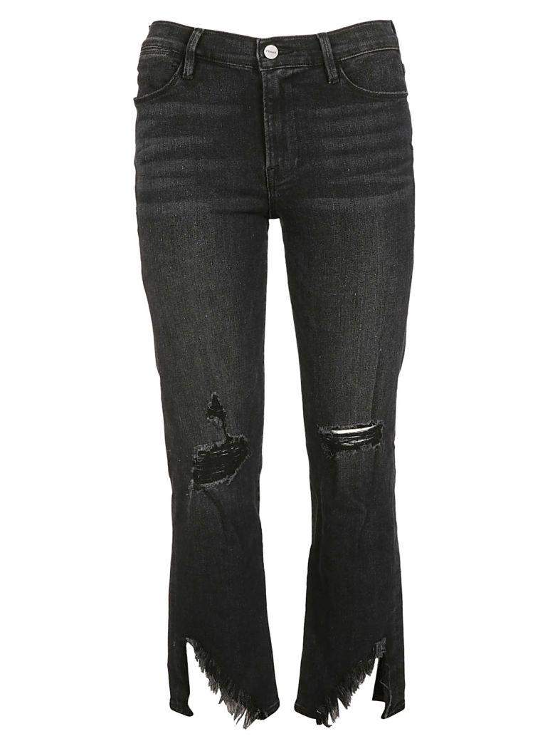 Frame Distressed Cropped Jeans - Killington