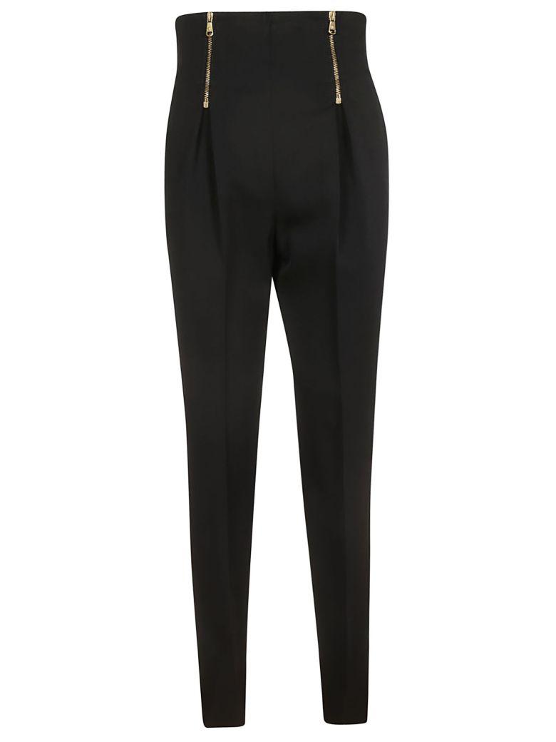 Versace Zipped Trousers - Black