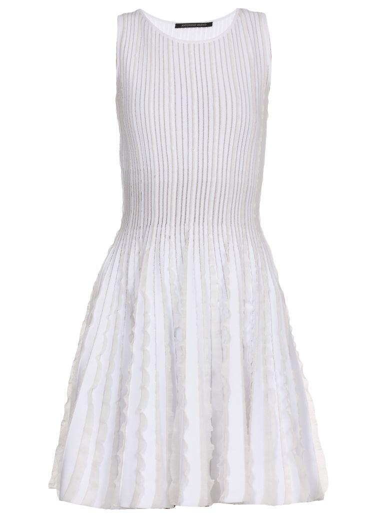 Antonino Valenti Ermelinda Skater Dress - White