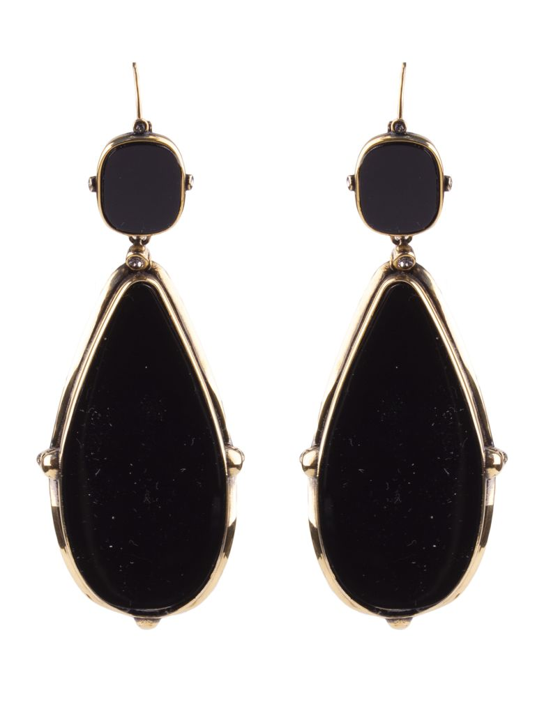 Alexander McQueen Earrings - Black