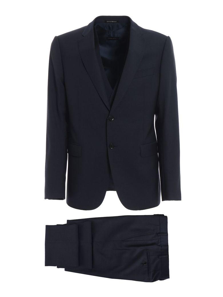 Emporio Armani Formal Suit - Blu Navy