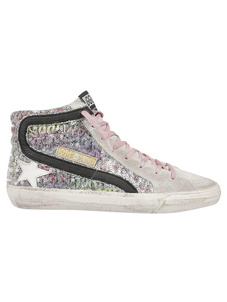 Golden Goose Slide Hi-top Sneakers - Paillettes