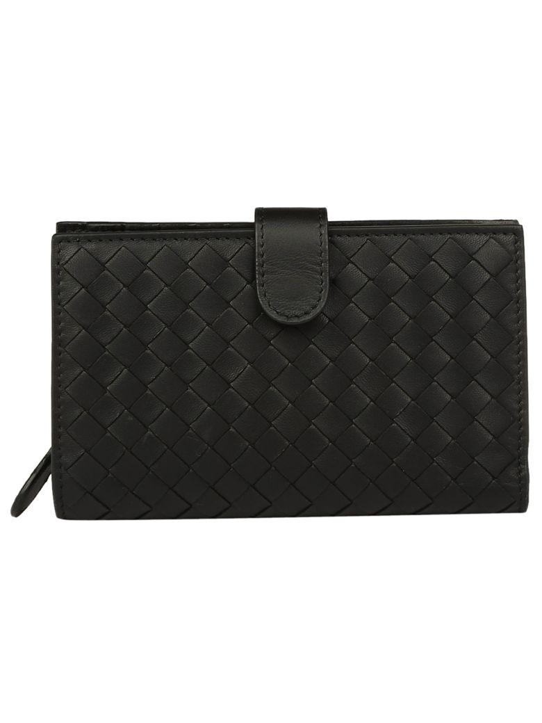 Bottega Veneta Crossbody Wallet - Nero