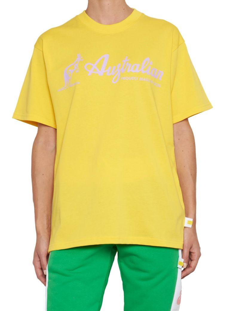 GCDS Australian T-shirt - Giallo