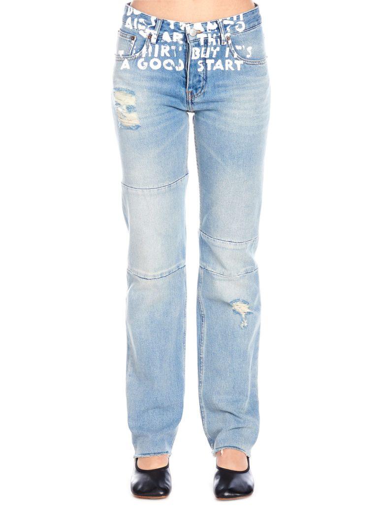 MM6 Maison Margiela Jeans - Light blue