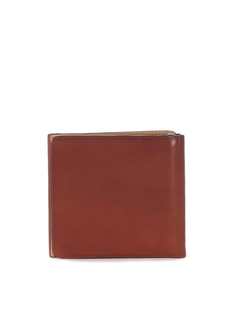 Il Bussetto Cognac Tuscan Leather Il Bussetto Wallet - Brown