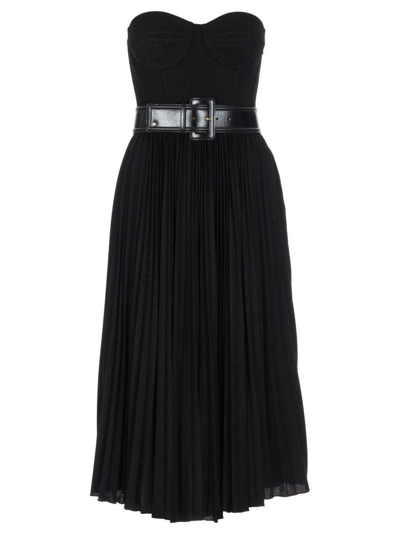 Elisabetta Franchi Celyn B. Elisabetta Franchi Dress With Belt - Black