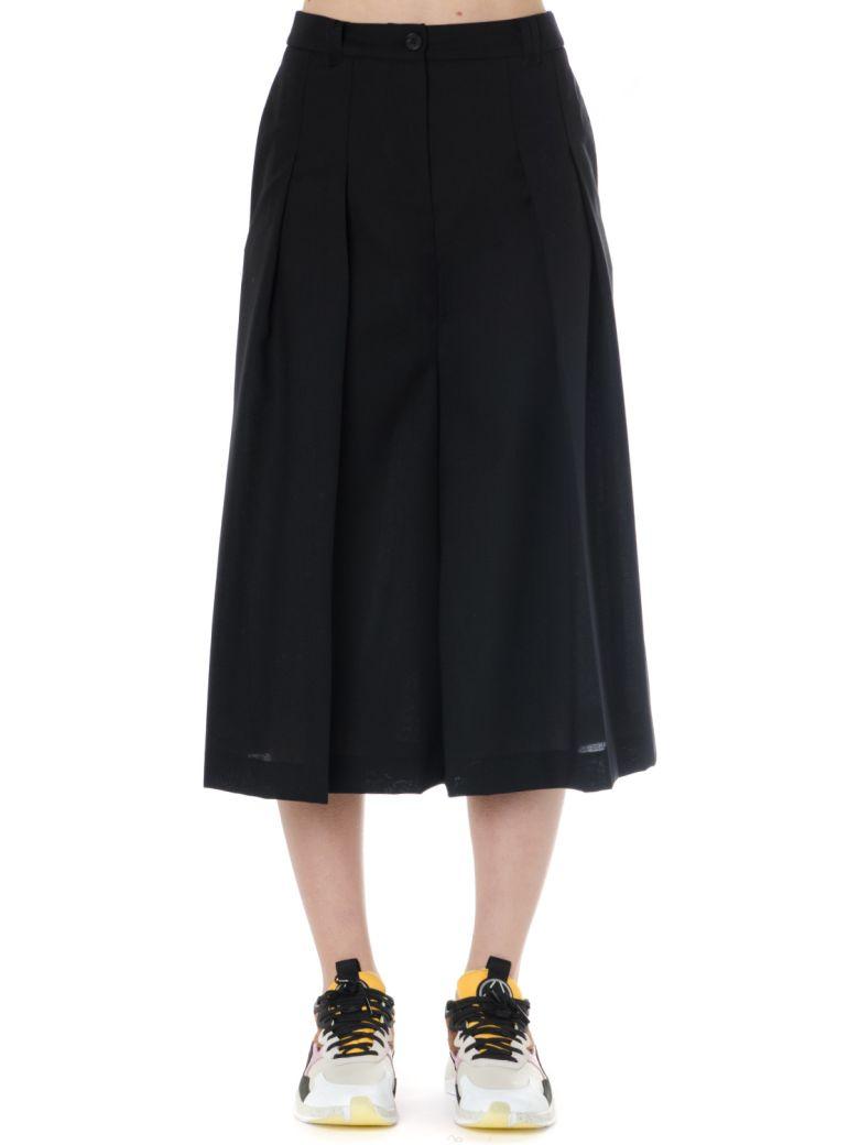 McQ Alexander McQueen Black Wool Skort - Black