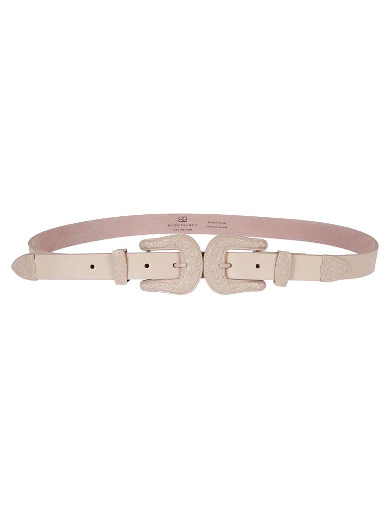 B-Low the Belt B Low The Belt Double Buckle Belt - Total Pink