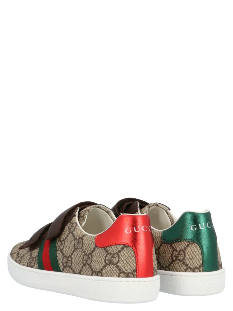 Gucci 'new Ace' Shoes - Multicolor