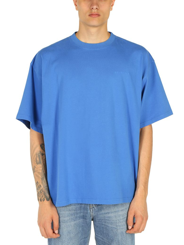 Balenciaga - Balenciaga T-shirt - Washed blue