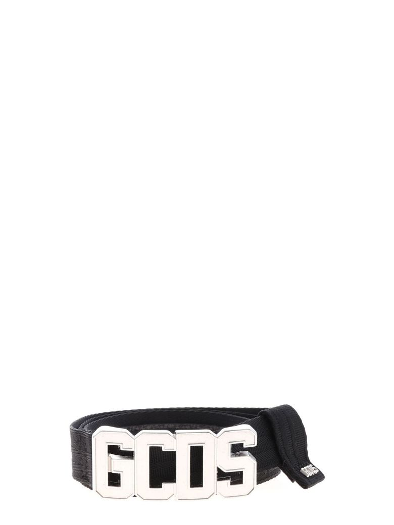 GCDS Logo Classic Belt - Nero