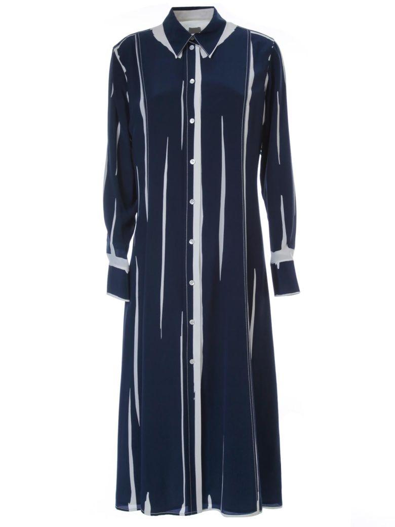 Paul Smith Dress Chemisier Silk - Navy