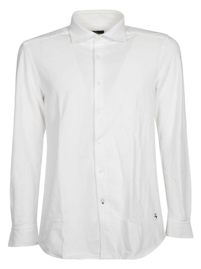 Fay Logo Detail Shirt - White