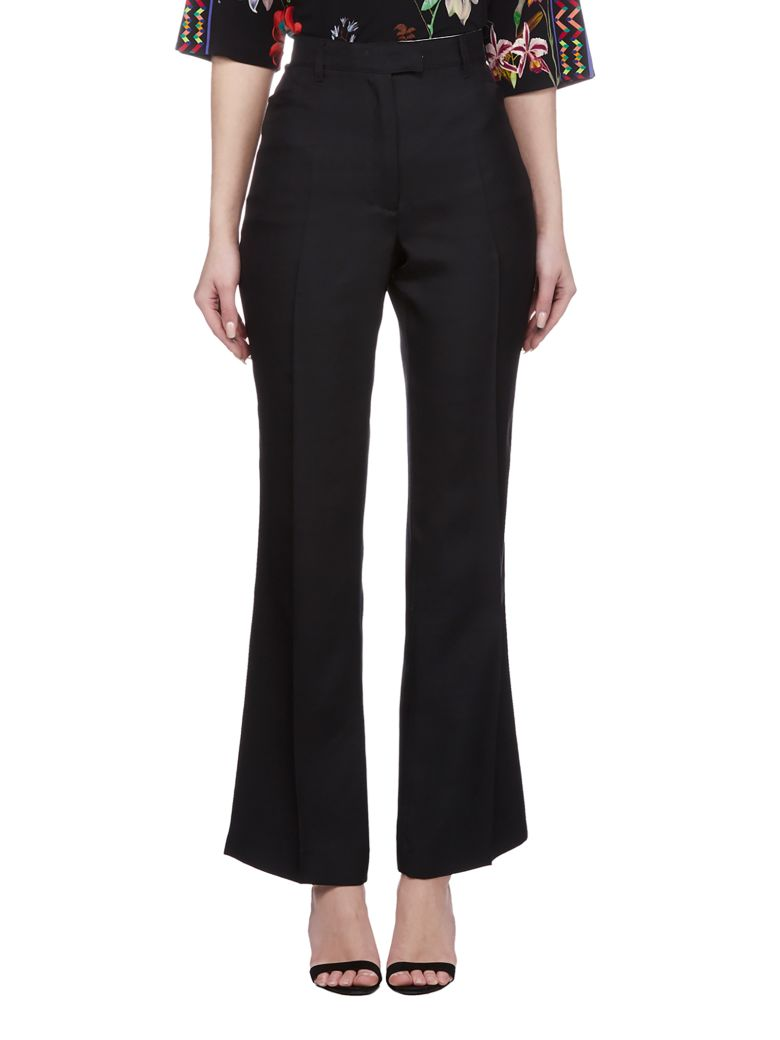 Etro High-waisted Trousers - Black