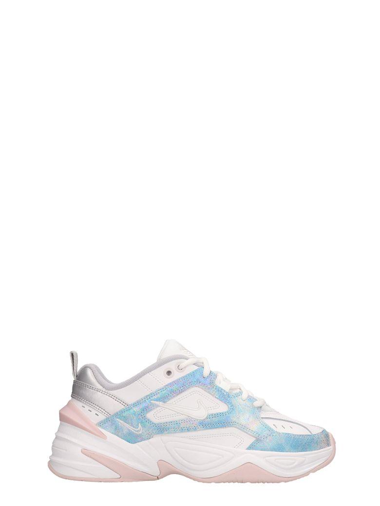 Nike White Leather M2k Tekno Sneakers - white