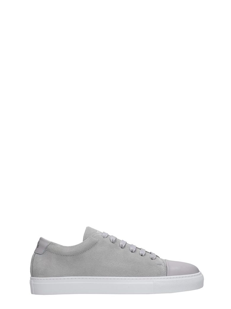 National Standard Edition 3 Sneakers In Grey Suede - grey